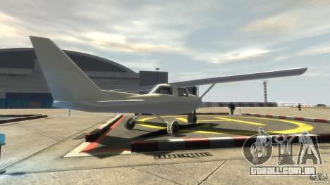 San Andreas Dodo para GTA 4 traseira esquerda vista