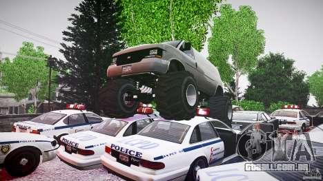 MEGA Speedo v0.9 para GTA 4 vista superior