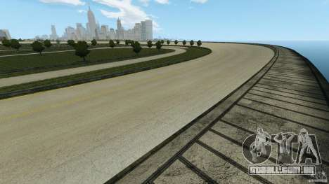 Dakota Raceway [HD] Retexture para GTA 4 twelth tela