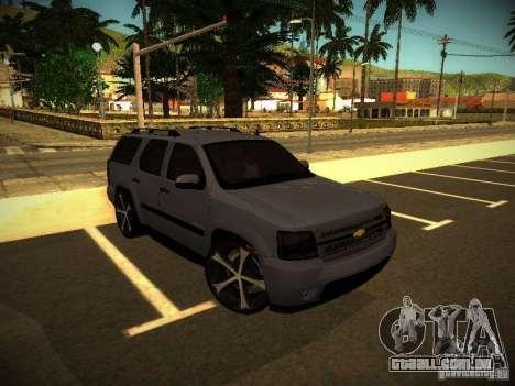 Chevrolet Tahoe HD Rimz para GTA San Andreas