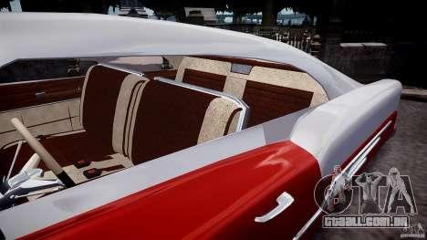 Buick Custom Copperhead 1950 para GTA 4 vista interior