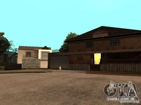 Grand Street para GTA San Andreas terceira tela