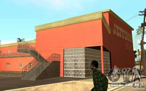 UGP Moscow New Jefferson Motel para GTA San Andreas por diante tela
