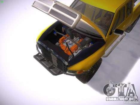 Dodge Ram Prerunner para GTA San Andreas vista direita