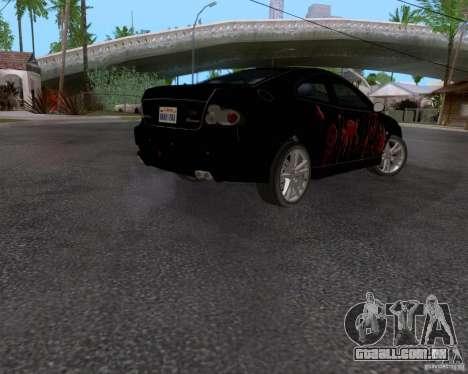 Vauxhall Monaco VX-R para vista lateral GTA San Andreas