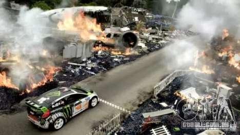 Telas de carregamento 4 ginásio para GTA San Andreas por diante tela