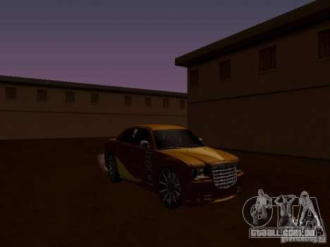 Chrysler 300C SRT8 2007 para GTA San Andreas vista interior