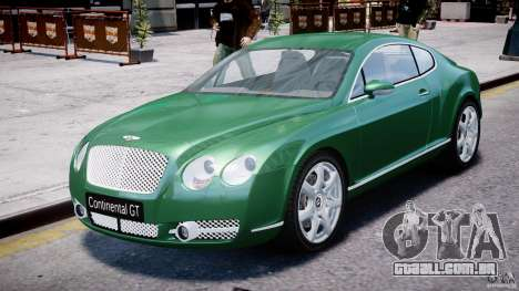 Bentley Continental GT para GTA 4
