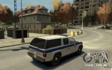 Chevrolet Suburban 2003 NOOSE para GTA 4 vista direita