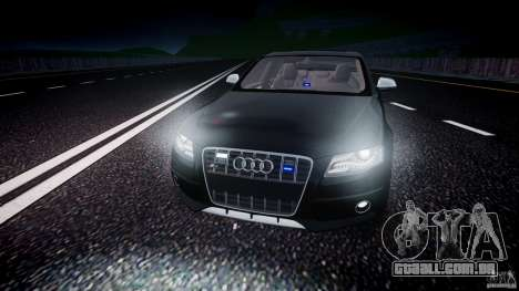 Audi S4 Unmarked [ELS] para GTA 4 vista inferior