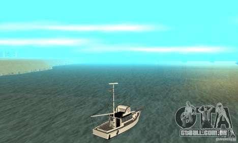 Reefer GTA IV para GTA San Andreas esquerda vista