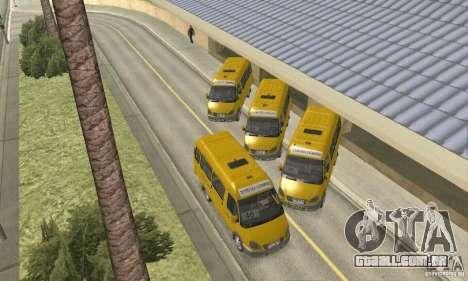 Gaz 2705 Minibus para GTA San Andreas vista direita