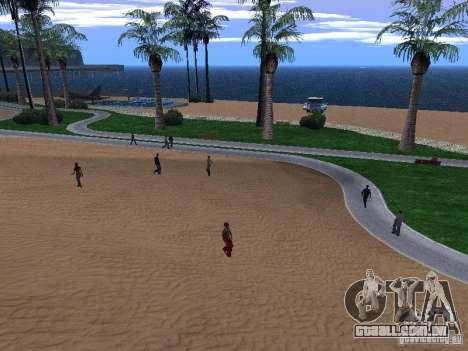 Nova praia textura v 1.0 para GTA San Andreas segunda tela
