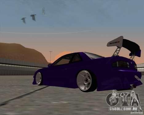 Nissan Silvia S13 Nismo tuned para GTA San Andreas vista direita