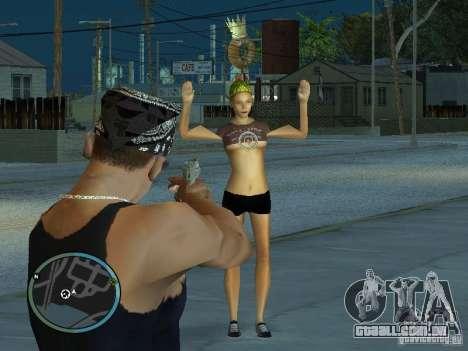 Câmera de GTA IV 1.0 para GTA San Andreas por diante tela