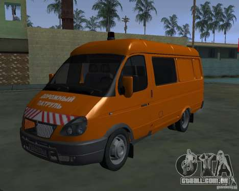 Gazela 2705 highway patrol para GTA San Andreas