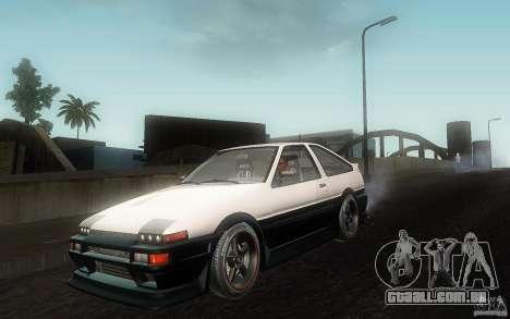Toyota Sprinter Trueno AE86 Drift spec para GTA San Andreas