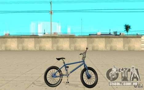 X-game BMX para GTA San Andreas esquerda vista