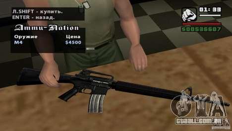 Montagem de HD para GTA San Andreas nono tela