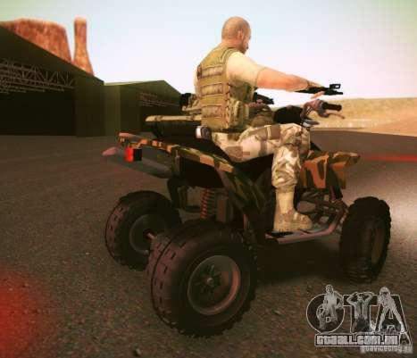 ATV 50 para GTA San Andreas traseira esquerda vista