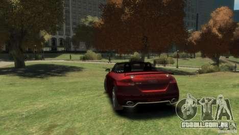 Audi TT RS Roadster para GTA 4 esquerda vista