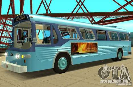 GMC Fishbowl City Bus 1976 para GTA San Andreas