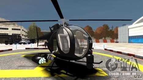 AH-6 LittleBird Helicopter para GTA 4