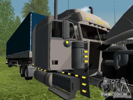 Freightliner FLD120 Classic XL Midride para vista lateral GTA San Andreas