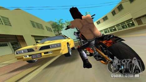 Pontiac Trans Am 77 para GTA Vice City vista traseira