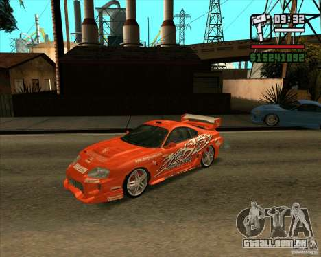 Toyota Supra MK4 tunable para GTA San Andreas