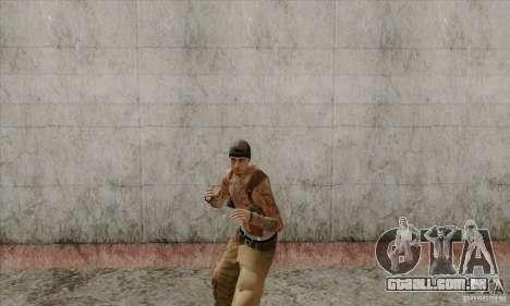 Novo Og Loc para GTA San Andreas por diante tela