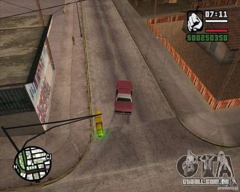 Câmera como em GTA Chinatown Wars para GTA San Andreas quinto tela