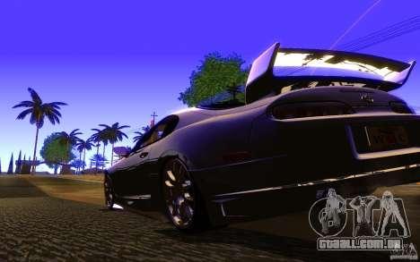 Toyota Supra Rz The bloody pearl 1998 para GTA San Andreas vista direita