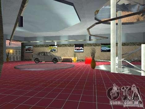 Auto VAZ para GTA San Andreas por diante tela