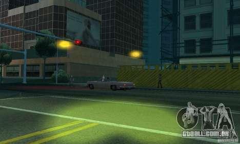 Faróis amarelos para GTA San Andreas sexta tela