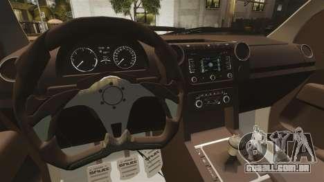 Volkswagen Amarok Light Tuning para GTA 4