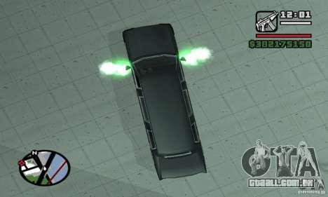 Expurgo como no NFS para GTA San Andreas terceira tela