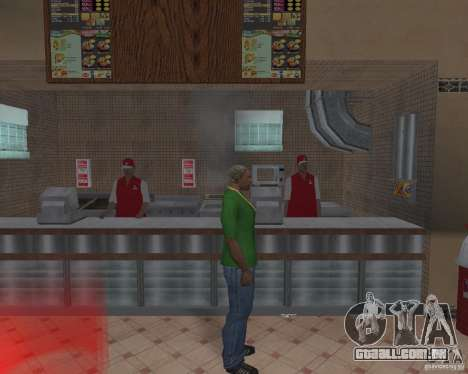 Novas texturas de restaurantes e lojas para GTA San Andreas oitavo tela