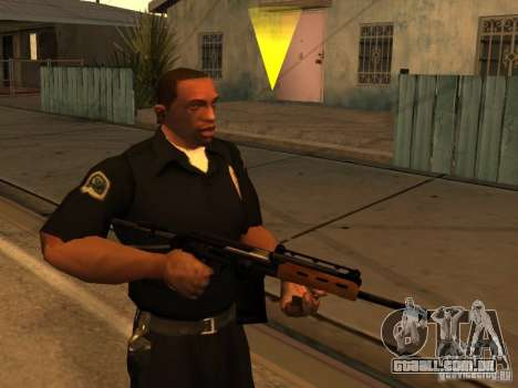 Armas de Pak interno atualizadas para GTA San Andreas por diante tela