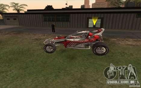 Bandito para GTA San Andreas esquerda vista