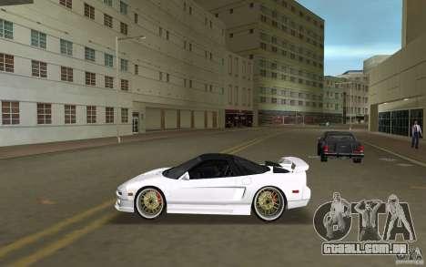 Honda NSX 1991 para GTA Vice City deixou vista
