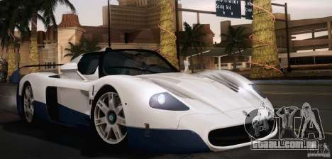 Maserati MC12 V1.0 para GTA San Andreas interior