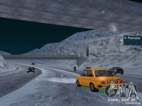 Neve para GTA San Andreas oitavo tela