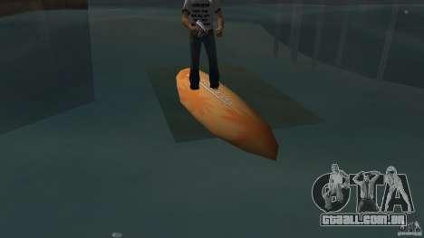 Surfboard 2 para GTA Vice City deixou vista