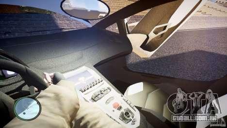 Lamborghini Aventador LP 700-4 para GTA 4 vista superior