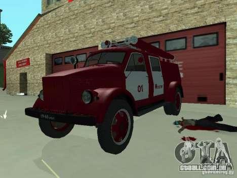 GAZ 51 20 ADC para GTA San Andreas esquerda vista