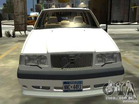 Volvo 850 R 1996 Rims 2 para GTA 4 vista de volta