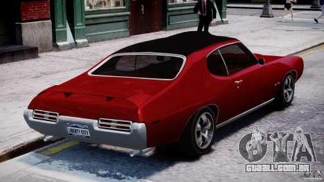 Pontiac GTO 1965 v1.1 para GTA 4 vista lateral