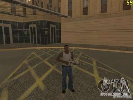 Regeneração dos braços em assassinato para GTA San Andreas terceira tela