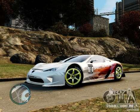 Lexus LFA Speedhunters Edition para GTA 4